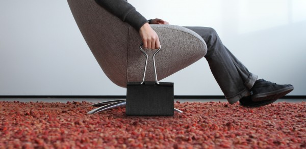 The Binder Clip Bag by Peter Bristol