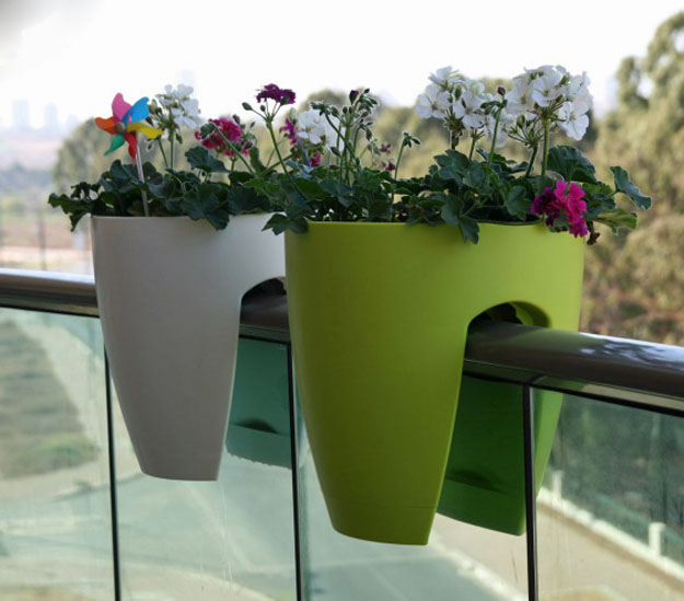 Greenbo Designer Railing Planter