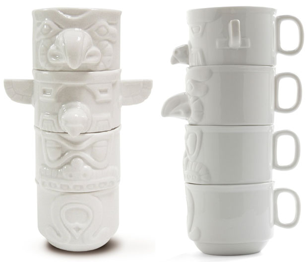 Imm Living Totem Cups Coffee Mugs