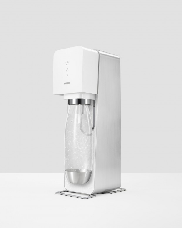 SodaStream Source Home Soda Machine Designed by Yves Behar